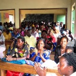 Parents congregation listening to the FRALIBI Board 2