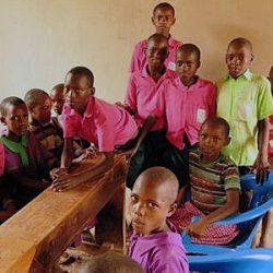 5 kamuli kids in new class room a